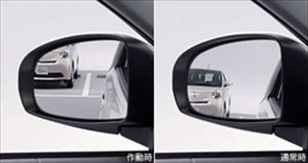 『IQ』 純正 KGJ10 リバース連動ミラー パーツ トヨタ純正部品 バック 自動 安全確認 オプション アクセサリー 用品