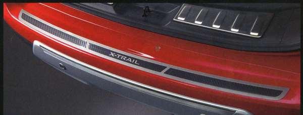 『エクストレイル』 純正 T32 リヤバンパープロテクター GCMT0 パーツ 日産純正部品 X-TRAIL オプション アクセサリー 用品