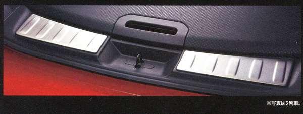 『エクストレイル』 純正 T32 ラゲッジキッキングプレート GCWV0 パーツ 日産純正部品 スカッフプレート ステップ 保護 X-TRAIL オプション アクセサリー 用品
