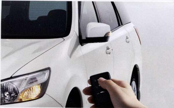 ドアミラーオートシステム エクシーガ YA5 YAM スバル純正 オートリトラクタブルミラー ドアミラー自動格納 駐車連動 exiga パーツ 部品 オプション