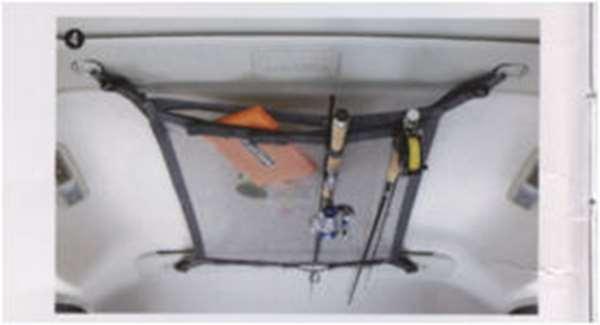 『デリカD:5』 純正 CV4W CV5W ヘッドスペースネット(ロッドホルダー兼用)※メーカーオプションのトリプルパノラマループ装着車を除く。 パーツ 三菱純正部品 DELICA オプション アクセサリー 用品