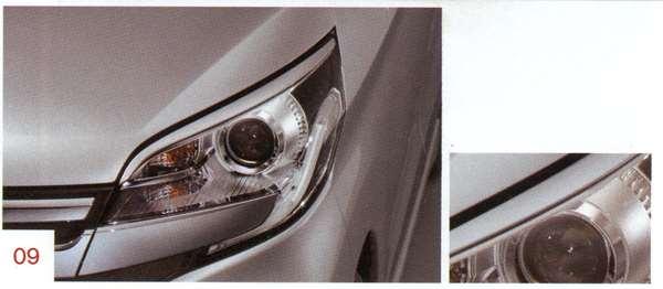 ヘッドライトフィニッシャー 除くSLN、VYN、CWN デイズ ルークス B21A 日産純正 DAYZROOX パーツ 部品 オプション