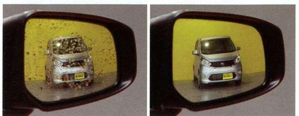 親水鏡面ドアミラー デイズ ルークス B21A 日産純正 DAYZROOX パーツ 部品 オプション