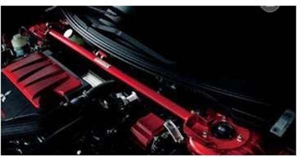 『ランサーエボリューションX』 純正 CZ4A ストラットタワーバー(フロント) パーツ 三菱純正部品 補強 フレーム エンジンルーム LANCER オプション アクセサリー 用品