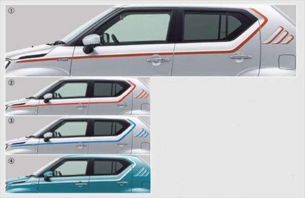 【イグニス】純正 FF21S デカールセット ※ステッカーのみ パーツ スズキ純正部品 ステッカー シール ワンポイント ignis オプション アクセサリー 用品