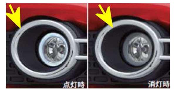 フォグランプ用のベゼルのみ 左右セット *フォグランプ本体は別売 99000-99060-R09 イグニス FF21S
