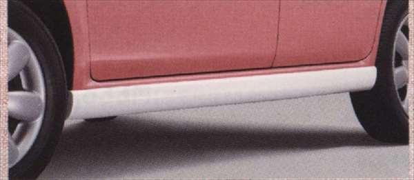 『ラパン』 純正 HE22S サイドアンダースポイラー 左右セット パーツ スズキ純正部品 サイドスポイラー カスタム エアロ lapin オプション アクセサリー 用品