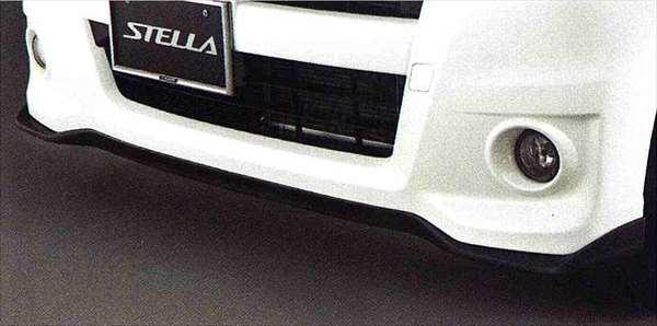 フロントバンパースカート ステラ LA100F LA110F