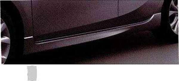 『アクセラ』 純正 BL5FW BLEFW BLEAW サイドアンダースポイラー 左右セット パーツ マツダ純正部品 サイドスポイラー カスタム エアロパーツ axela オプション アクセサリー 用品