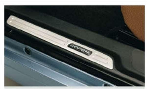『コペン』 純正 LA400K スカッフプレートカバー パーツ ダイハツ純正部品 ステップ 保護 プレート copen オプション アクセサリー 用品