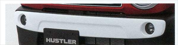 『ハスラー』 純正 MR31S バンパーガーニッシュ フロント用 ※Jスタイルは取付不可 パーツ スズキ純正部品 飾り パネル カスタム hustler オプション アクセサリー 用品