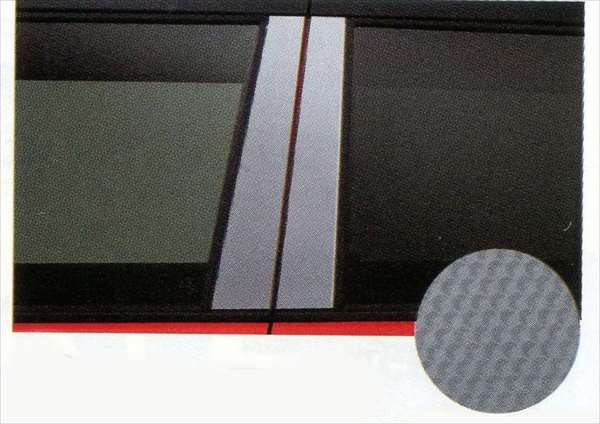 ピラーフィルム 左右ドア 4枚セット ハスラー MR31S