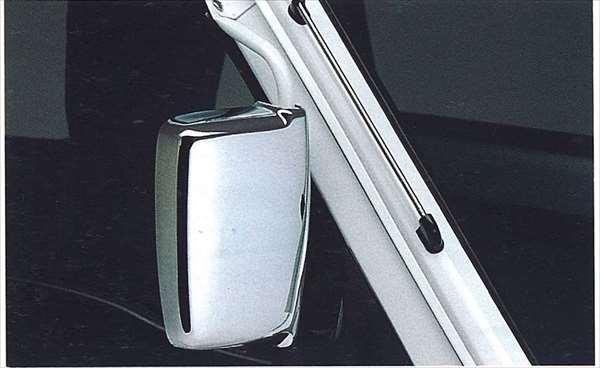 ドアミラープロテクター(メッキ、左右セット)カスタムミラー用 ☆ エブリイ DE51 DF51