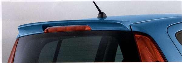 『スプラッシュ』 純正 XB32S ルーフエンドスポイラー パーツ スズキ純正部品 ルーフスポイラー リアスポイラー splash オプション アクセサリー 用品