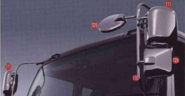 ギガ メッキミラーカバー(メインミラー) 左 イスズ純正部品 ギガ パーツ cyl77 cyj77 cyy77 cye77 パーツ 純正 イスズ いすゞ イスズ純正 いすゞ 部品 オプション メッキミラー カバー