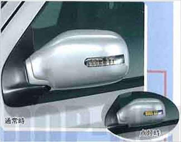 『kai』 純正 HN22S ドアミラーカバー(ターンランプ付) パーツ スズキ純正部品 サイドミラーカバー カスタム ケイ オプション アクセサリー 用品