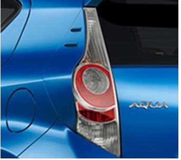『アクア』 純正 NHP10 リヤコンビガーニッシュ タイプ1 パーツ トヨタ純正部品 aqua オプション アクセサリー 用品