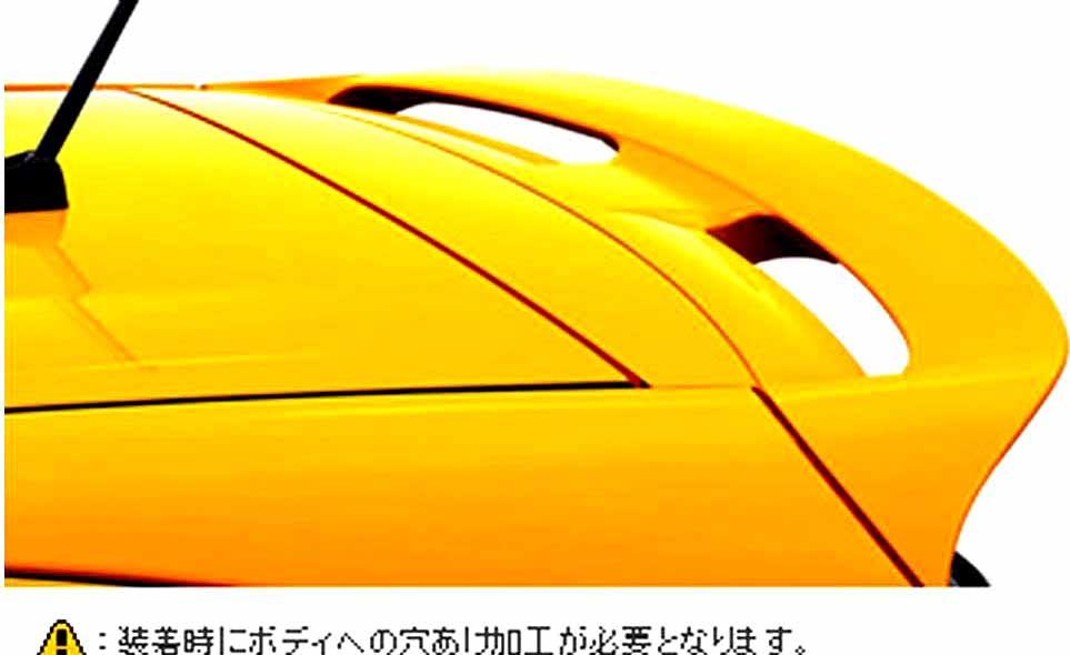 flor013 『アクア』 純正 NHP10 リヤスポイラー パーツ トヨタ純正部品 aqua オプション アクセサリー 用品