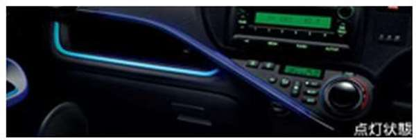 『アクア』 純正 NHP10 インパネアクセントイルミ 本体 ※スイッチキット別売り パーツ トヨタ純正部品 aqua オプション アクセサリー 用品