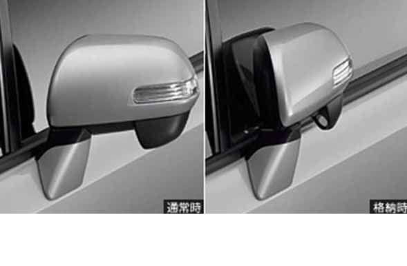 『ヴォクシー』 純正 ZRR70 オートリトラクタブルミラー ※ミラー本体ではありません パーツ トヨタ純正部品 ドアミラー自動格納 駐車連動 voxy オプション アクセサリー 用品