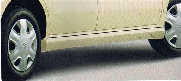 『MRワゴン』 純正 MF22S サイドアンダースポイラー(プレーンスタイル) パーツ スズキ純正部品 mrwagon オプション アクセサリー 用品