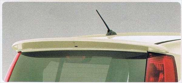 『MRワゴン』 純正 MF22S ルーフエンドスポイラー(プレーンスタイル) パーツ スズキ純正部品 ルーフスポイラー リアスポイラー mrwagon オプション アクセサリー 用品