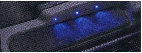 『ビアンテ』 純正 CCFFW フットランプ&イルミネーション リアステップ用 パーツ マツダ純正部品 フットライト BIANTE オプション アクセサリー 用品