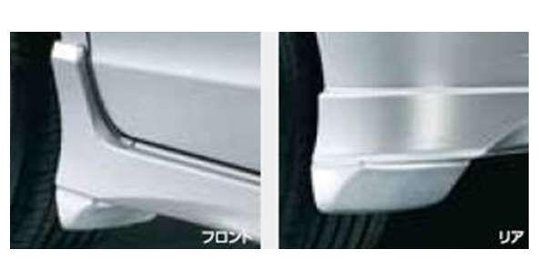 『フリード』 純正 GP3 マッドガード(フロント用・リア用/左右セット) 除くG、G・ジャストセレクション用 パーツ ホンダ純正部品 FREED オプション アクセサリー 用品