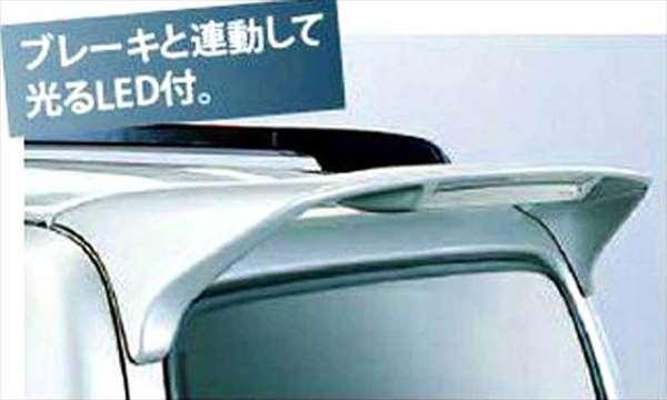 『ジムニーシエラ』 純正 JB43W ルーフエンドスポイラー パーツ スズキ純正部品 ルーフスポイラー リアスポイラー jimny オプション アクセサリー 用品