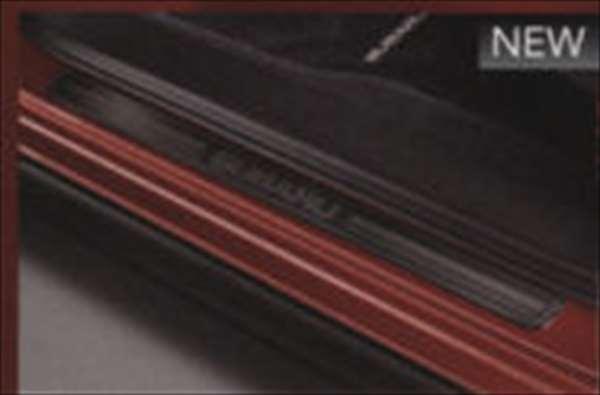 サイドシルプレート ブラック XV GP7 スバル純正 ステップ 保護 プレート パーツ 部品 オプション