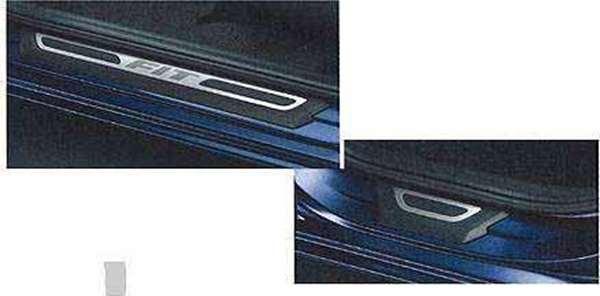『フィット』 純正 GE6 GE9 ステップガーニッシュ パーツ ホンダ純正部品 FIT オプション アクセサリー 用品