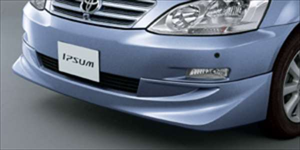 『イプサム』 純正 ACM21 ACM26 フロントスポイラータイプA パーツ トヨタ純正部品 カスタム エアロパーツ ipsum オプション アクセサリー 用品