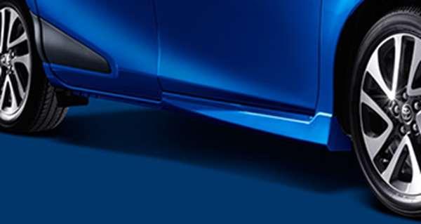 『シエンタ』 純正 NSP170G NCP175G NHP170G サイドマッドガード パーツ トヨタ純正部品 sienta オプション アクセサリー 用品