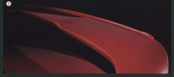 『ランサーエボリューションX』 純正 CZ4A ガーニーフラップ(大型リヤスポイラー装着車用) パーツ 三菱純正部品 ルーフスポイラー リアスポイラー LANCER オプション アクセサリー 用品