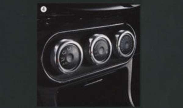 エアコンダイヤルカバー ランサーエボリューションX CZ4A 三菱純正 LANCER パーツ 部品 オプション