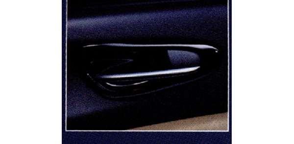『RX-8』 純正 SE3P インナーハンドルベゼル(ピアノブラック)左右セット パーツ マツダ純正部品 内装パネル ドレスアップ オプション アクセサリー 用品