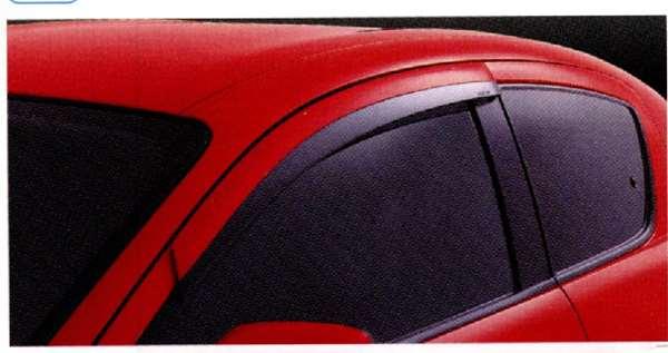 アクリルバイザー フロント2枚セット RX-8 SE3P マツダ純正 サイドバイザー ドアバイザー パーツ 部品 オプション