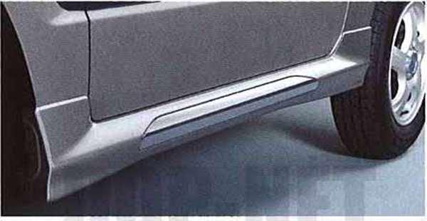 『パジェロミニ』 純正 H58A サイドシルガーニッシュ パーツ 三菱純正部品 PAJERO オプション アクセサリー 用品
