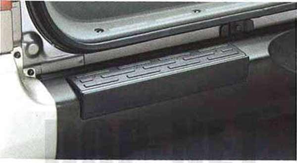 『パジェロミニ』 純正 H58A リヤバンパーステップカバー パーツ 三菱純正部品 PAJERO オプション アクセサリー 用品