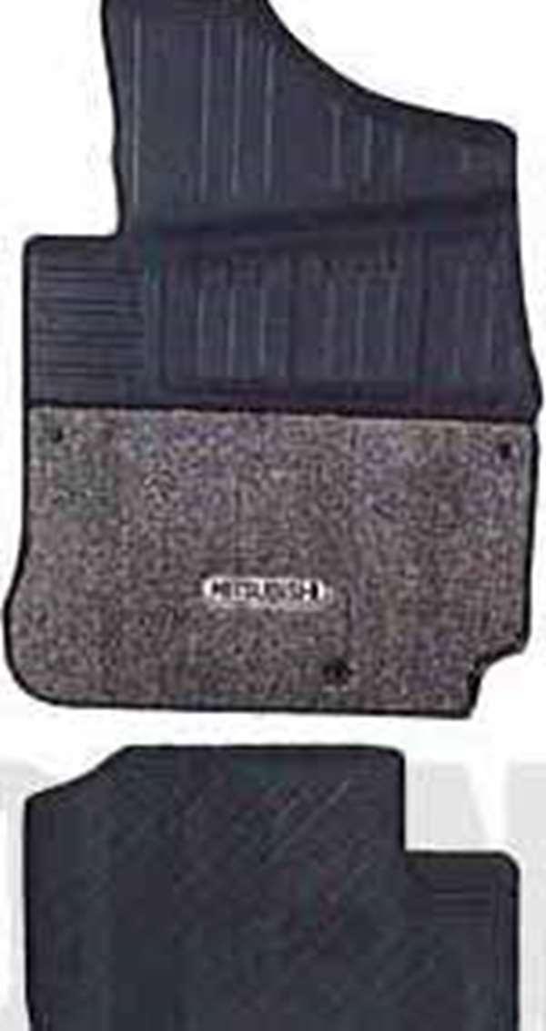 『パジェロミニ』 純正 H58A フロアマット(スタンダード) パーツ 三菱純正部品 フロアカーペット カーマット カーペットマット PAJERO オプション アクセサリー 用品