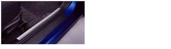 ステンレススカッフプレート(フロント) 左右セット アクセラ BLFFW BL5FW BLEAW