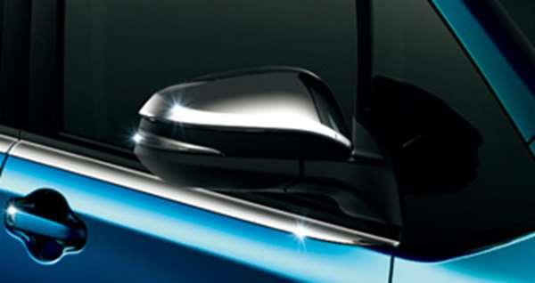 『ヴォクシー』 純正 BPXGB メッキドアミラーカバー パーツ トヨタ純正部品 サイドミラーカバー カスタム voxy オプション アクセサリー 用品