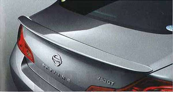『スカイライン』 純正 kv36 v36 nv36 リヤスポイラー カメラ付車用(1) パーツ 日産純正部品 ルーフスポイラー リアスポイラー SKYLINE オプション アクセサリー 用品