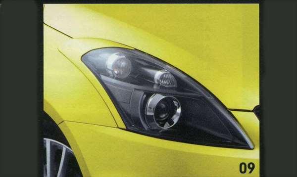 『スイフト』 純正 ZC72S ヘッドランプガーニッシュ(Sport) パーツ スズキ純正部品 swift オプション アクセサリー 用品