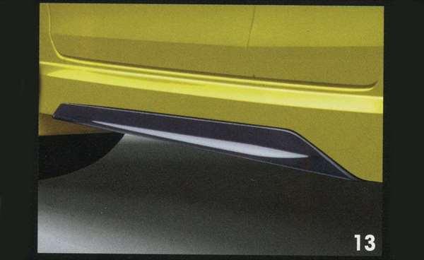 『スイフト』 純正 ZC72S サイドアンダーガーニッシュ 左右セット パーツ スズキ純正部品 swift オプション アクセサリー 用品