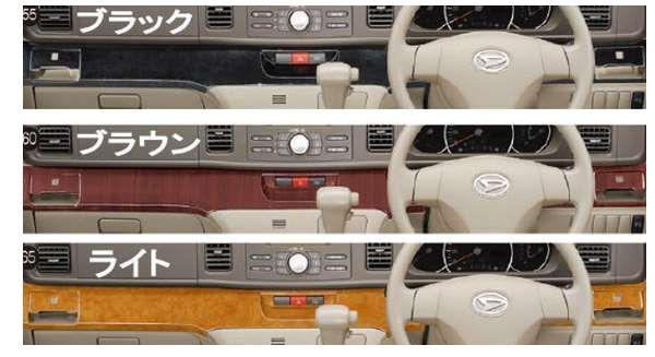 『アトレーワゴン』 純正 S321G S331G インパネミドルパネル パーツ ダイハツ純正部品 オプション アクセサリー 用品
