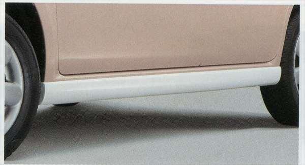 『ラパン』 純正 HE22S サイドアンダースポイラー パーツ スズキ純正部品 サイドスポイラー カスタム エアロ lapin オプション アクセサリー 用品