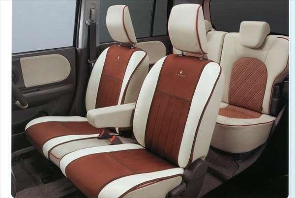 シートエプロン ラパン HE22S スズキ純正 汚れから保護 セミシートカバー lapin パーツ 部品 オプション