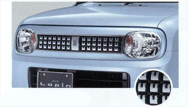 『ラパン』 純正 HE22S フロントグリル パーツ スズキ純正部品 飾り カスタム エアロ lapin オプション アクセサリー 用品