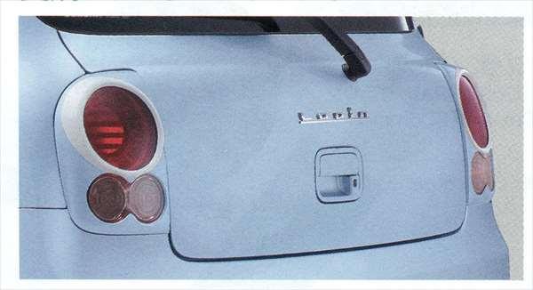 『ラパン』 純正 HE22S リヤランプガーニッシュ パーツ スズキ純正部品 リアガーニッシュ パネル カスタム lapin オプション アクセサリー 用品